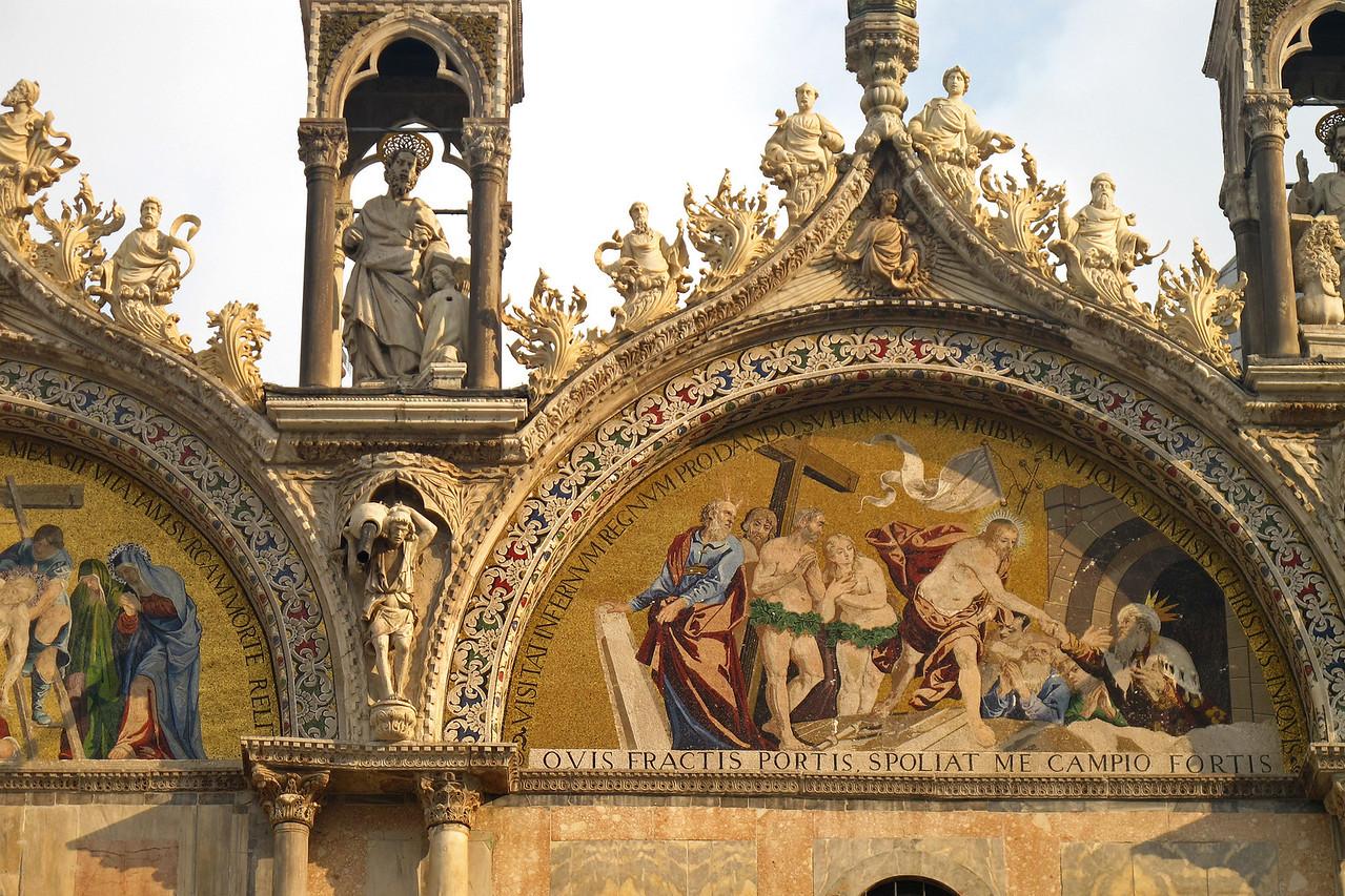 In Venice during the Festa della Befana - Basilica San Marco