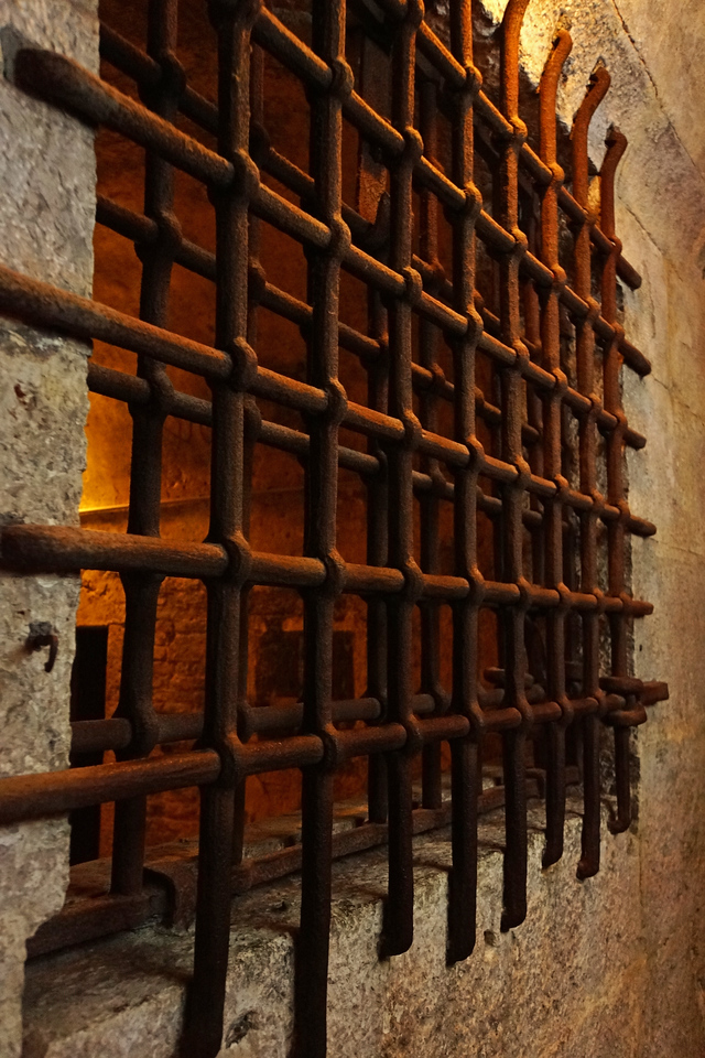 The prison at the palazzo ducale