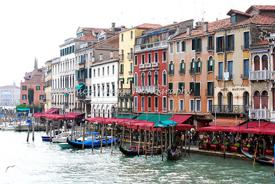 View from the Rialto Bridge, Venice April 08