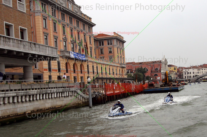 Venetian Cops on Jet Skis