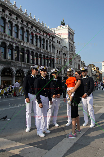 Sailors and young wife