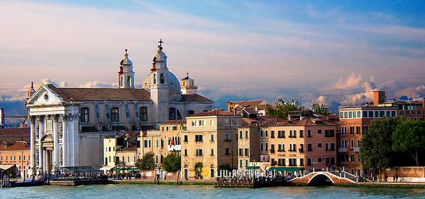 The view from the Wind Surf as we left Venice on our Adriatic cruise