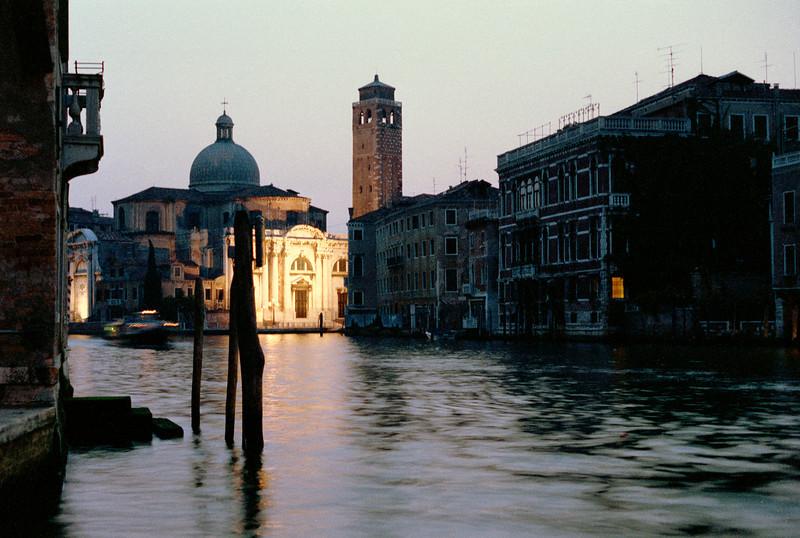Grand Canal at dusk Venice