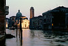 Grand Canal at dusk Venice