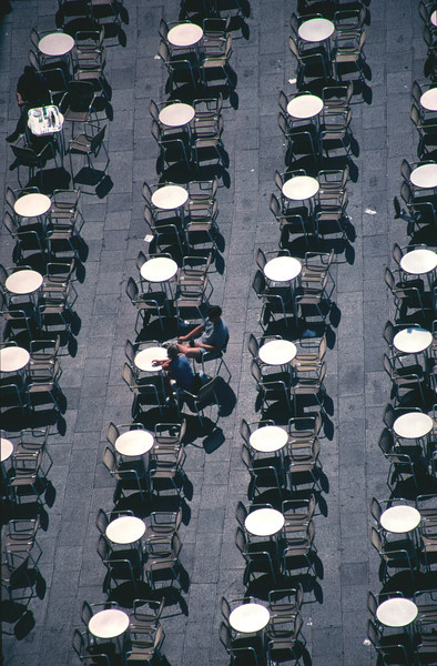 Outdoor cafe Piazza San Marco Venice