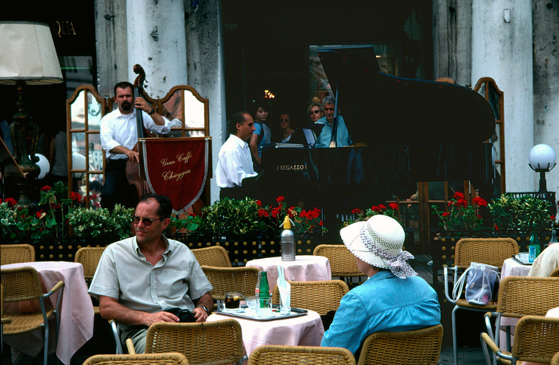 Cafe Piazza San Marco Venice