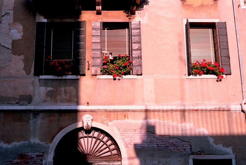 Canalside Building Venice Italy