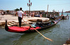Gondola at the Waterfront Venice