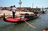 Gondola at the Waterfront Venice
