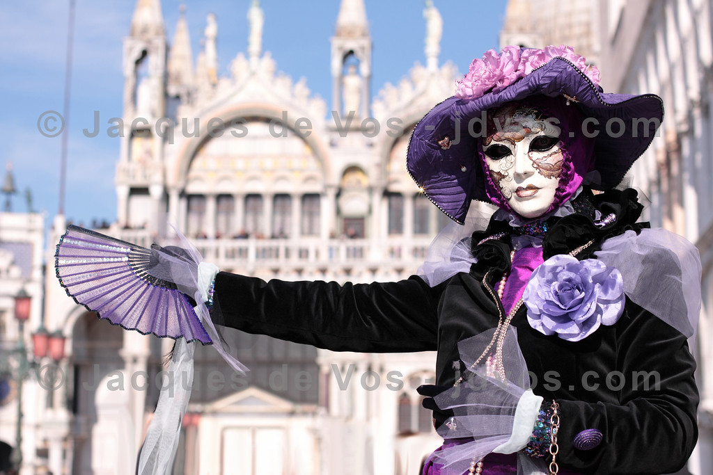 Carnevale di Venezia<br /> <br /> Doge's Palace visible in the background...