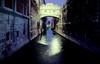 Bridge of Sighs Venice at night