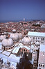 Venice cityscape and Basilica rooftops