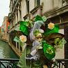 Costumed Reveler of the Carnival of Venice