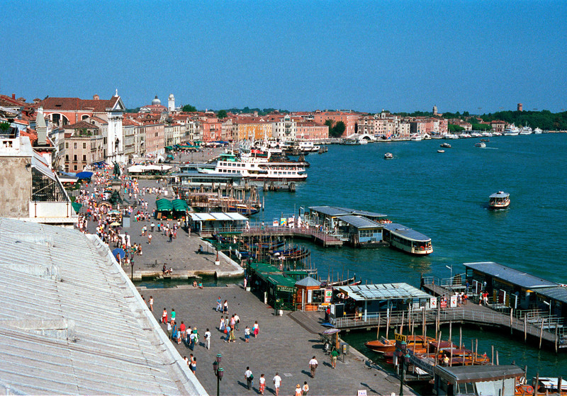 Venice waterfront Italy
