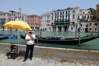 Gondolier looking for work