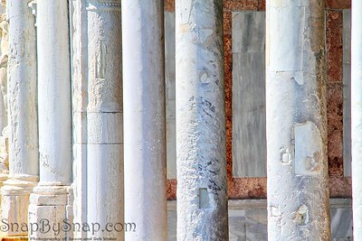 Aged Marble Columns