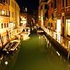 Empty Venice Canal