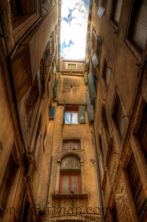 Venetian Architecture Perspective