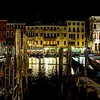Pier in Venice at Night