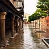Venice Street in the Rain