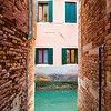 Narrow Venice Alley