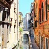 Venice Canal and Bridge