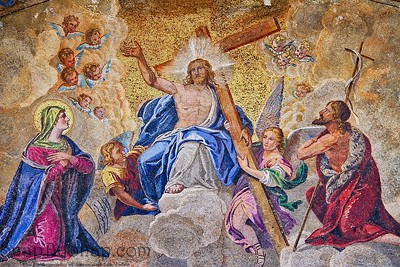 Ascension of Jesus Christ Mosaic