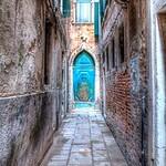 Venice Door in Alley
