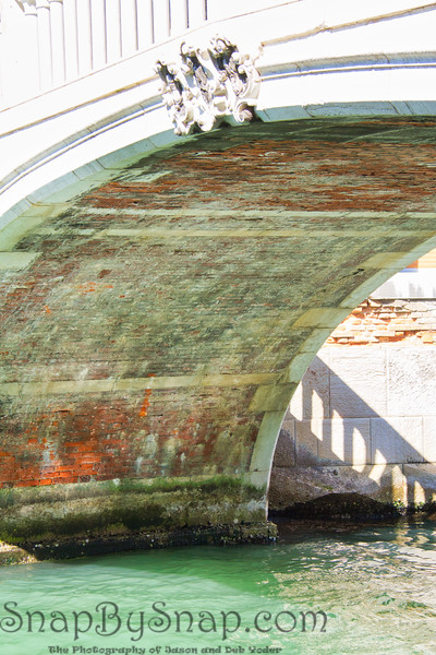Under a Venice Bridge