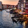 Painted Evening on the Grand Canal in HDR