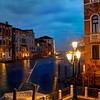 Evening on the Grand Canal in HDR