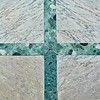 Marble Wall with Cross