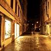 Wet Evening Street in Venice