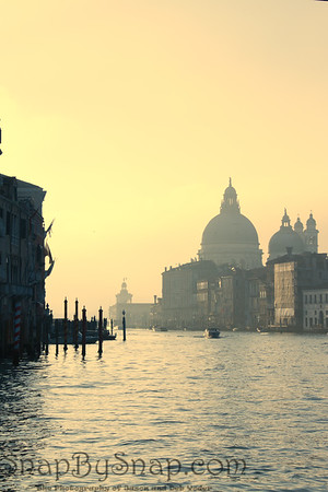 Venice Buildings at Sunrise