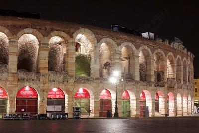 Gita a Verona - Arena: instrumentation is out
