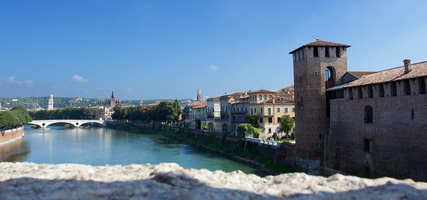 Un weekend a Verona - inverse view