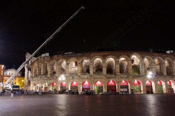 Gita a Verona - Arena: the show is over