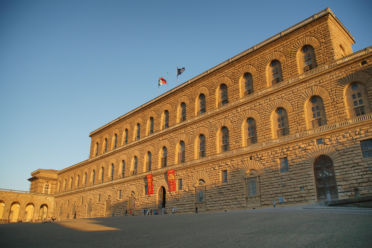 Pitti Palace at Sunset