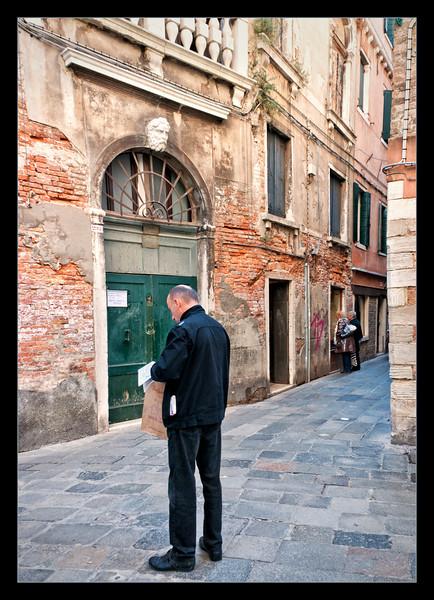 """Where Am I Now?""  Venice is like a maze. You really need a detailed map."