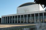 Palazzo dei Congressi, EUR (Esposizione Universale Romana), completed 1954.