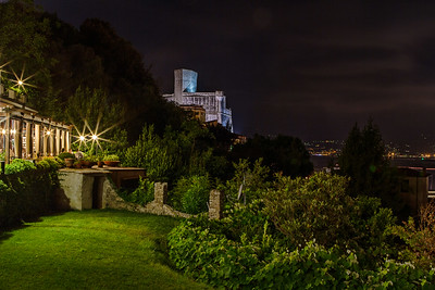 Sea Castle by Night
