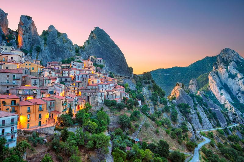 Castelmezzano, Italy.