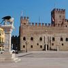 Castle of Marostica at main piazza (near Conco)