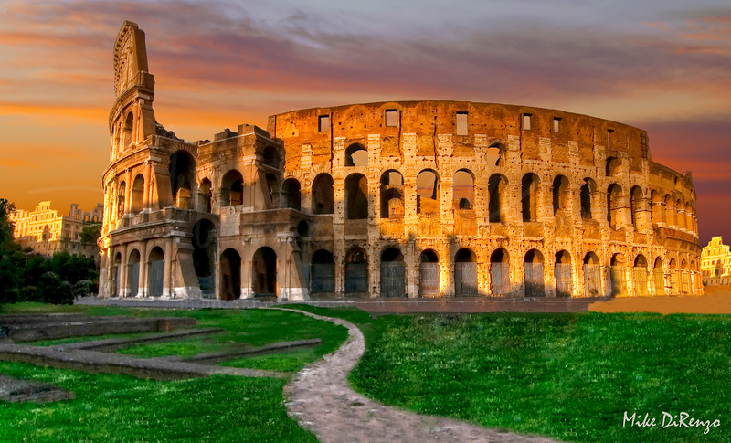 Coloseum at Dawn  5172   w24