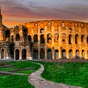 Coloseum at Dawn  5172   w24