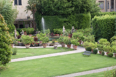 Private Garden from Lucca's Wall