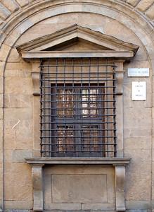 Michaelangelo's 'Kneeling Window', Palazzo Medici Riccardi, Firenza