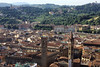 Florence from the top of the dome.