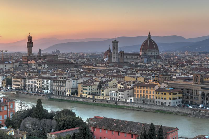 Panorama - Florence, Italy