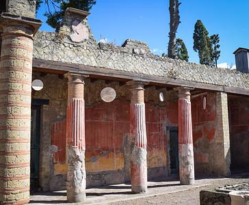 Herculaneum: atrium, House of the Merchant